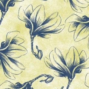 Hatched Magnolias - Matisse C