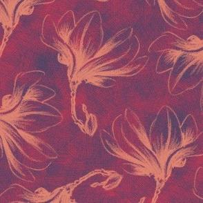 Hatched Magnolias - Matisse B