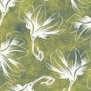 Hatched Magnolias - Matisse E