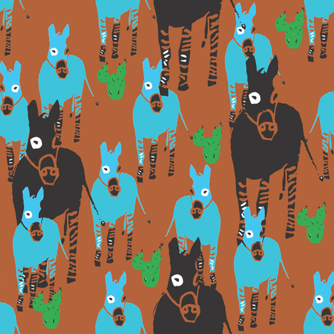 Painted Desert Local fabric by sizemode on Spoonflower - custom fabric