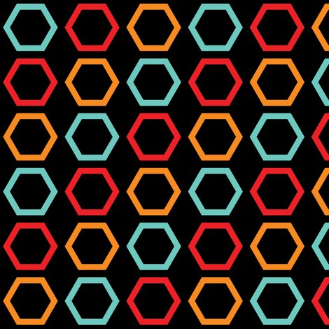 Rred_orange_and_blue_hexagons_on_black_shop_preview