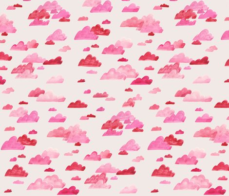 Partly Cloudy fabric by belinda_paige on Spoonflower - custom fabric
