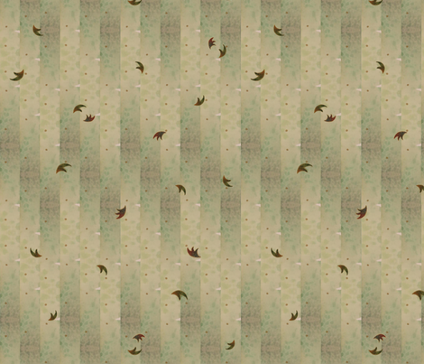 dancing_leaves fabric by abellearts on Spoonflower - custom fabric