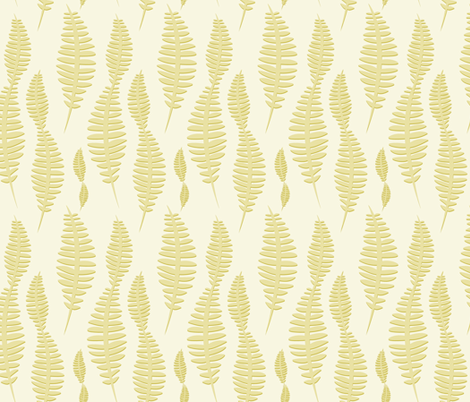 ferns fabric by krista_power on Spoonflower - custom fabric