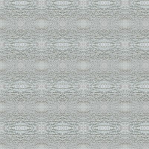 Gray and White Ikat Style