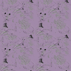 Purple Porcupines