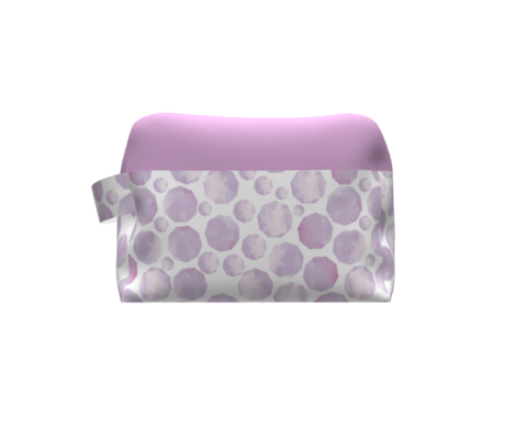 soft hexagon lavender