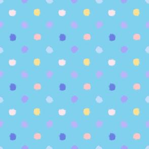 Pastel polka-dot