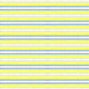 Blue and Yellow Stripes horizontal