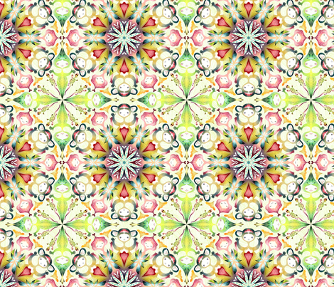 mandala03 fabric by gaiamarfurt on Spoonflower - custom fabric