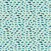 Tropical Fish - Blues