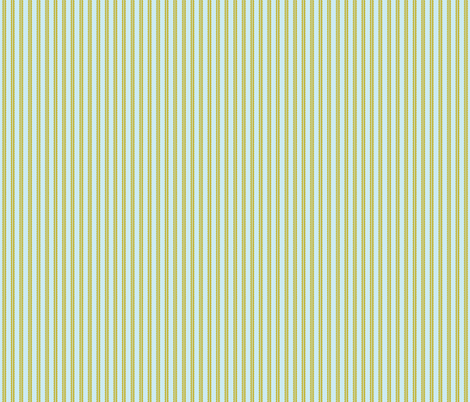 Zig Zag, gold and turquoise fabric by cindylindgren on Spoonflower - custom fabric
