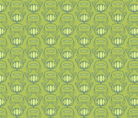 damask_green fabric by holly_helgeson on Spoonflower - custom fabric