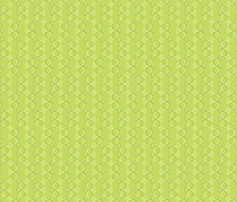 wavy_vine_green_tone_on_tone fabric by holly_helgeson on Spoonflower - custom fabric