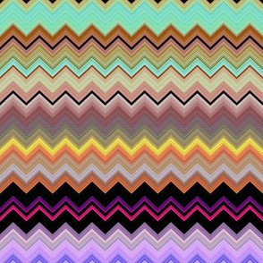 FRUITY LICORICE SWEETS CANDIES ZIGZAG CHEVRONS