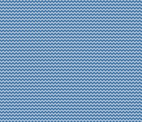 Blue chevron fabric by boutiqueid on Spoonflower - custom fabric