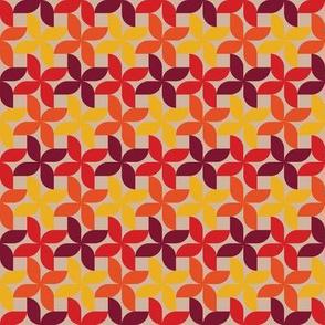 Warm Pinwheels