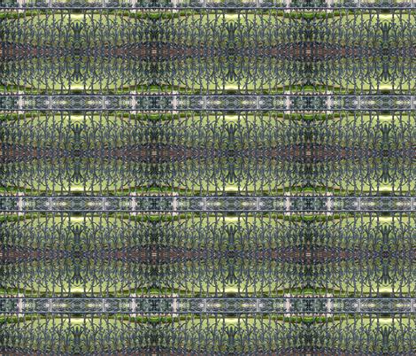 Cornstalk fence 1 fabric by shaunaroberts on Spoonflower - custom fabric