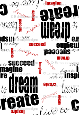DICIS Phrases (Red/Black/White)