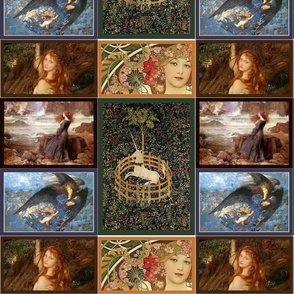Pre-Raphaelite mix