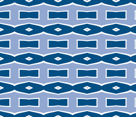 Bowties and Diamonds 7 fabric by mollywog2 on Spoonflower - custom fabric