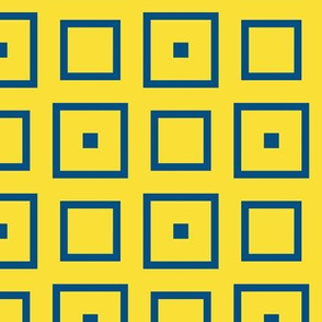 Blue Yellow Squares