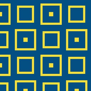 Yellow Blue Squares