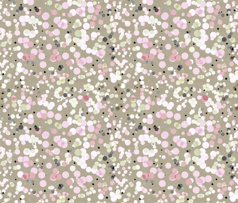 Japanese Spring Coordinate (Dots) fabric by vannina on Spoonflower - custom fabric