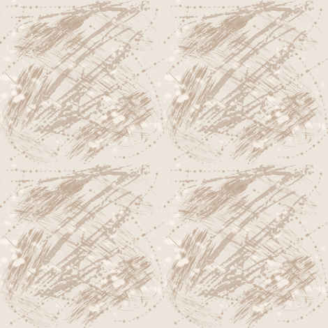 Beige Brushwork Texture fabric by gingezel on Spoonflower - custom fabric