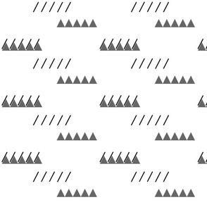 Mountains and Rain