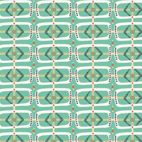 Penitence Geometric in Brave Colorway