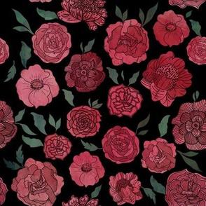 Dramatic Flowers.