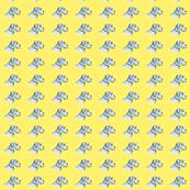 Schnauzer - standard on Yellow