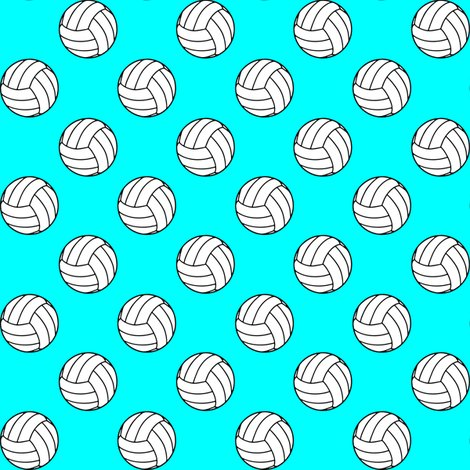 Rblack_aqua_blue_volleyball_shop_preview