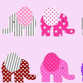 large pink elephant