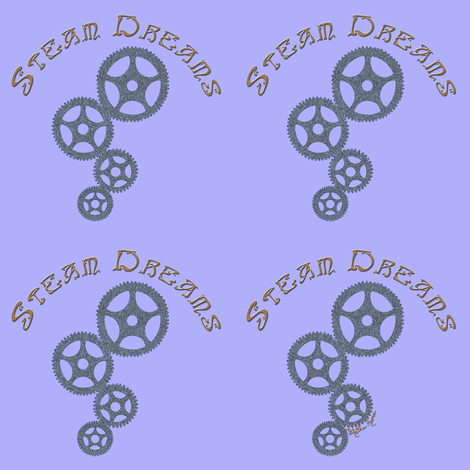 Steam Dreams - Blythe Ayne fabric by blythe_ayne's_fabric_designs on Spoonflower - custom fabric