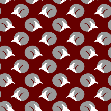 curling greyhounds fabric by lobitos on Spoonflower - custom fabric