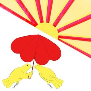 Love Birds in the Sun - Blythe Ayne