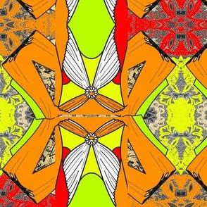 aura orange flower