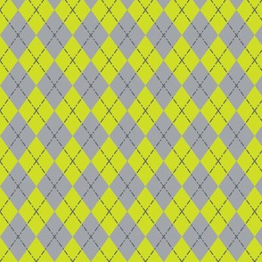 Gym Argyle (Green/Gray)