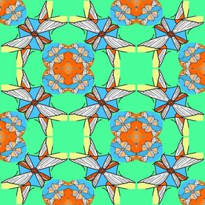 tora mosaic flower
