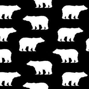 White Bear Silhouettes