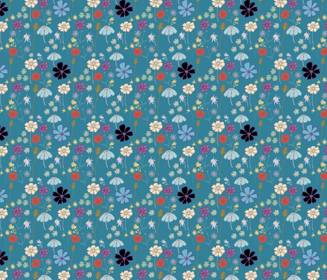 PastaPotCosmos fabric by elaine_marie on Spoonflower - custom fabric