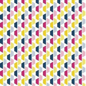 Pink, Blue & Yellow Trapezoids