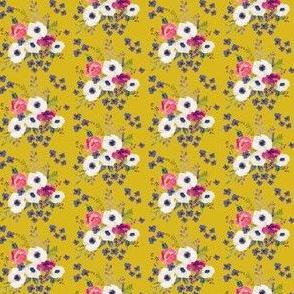 Boho Purple Floral Print - Mini