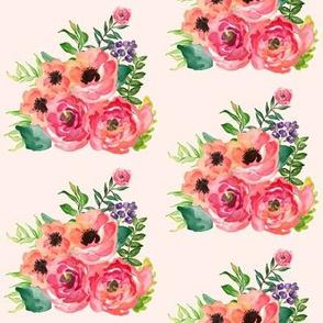 Floral Dreams Bunch in Pink