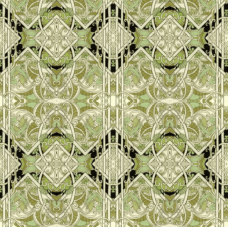 Khaki Curly fabric by edsel2084 on Spoonflower - custom fabric