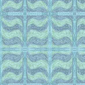 Blue Wave by Sara Aurora Waters