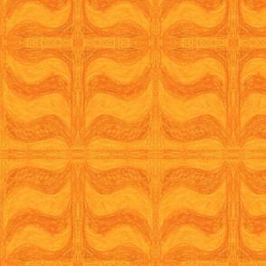 Orange Wave by Sara Aurora Waters