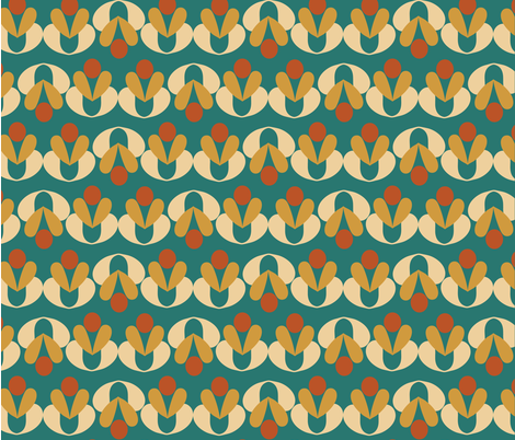 Adorn Retro fabric by tyejiles on Spoonflower - custom fabric